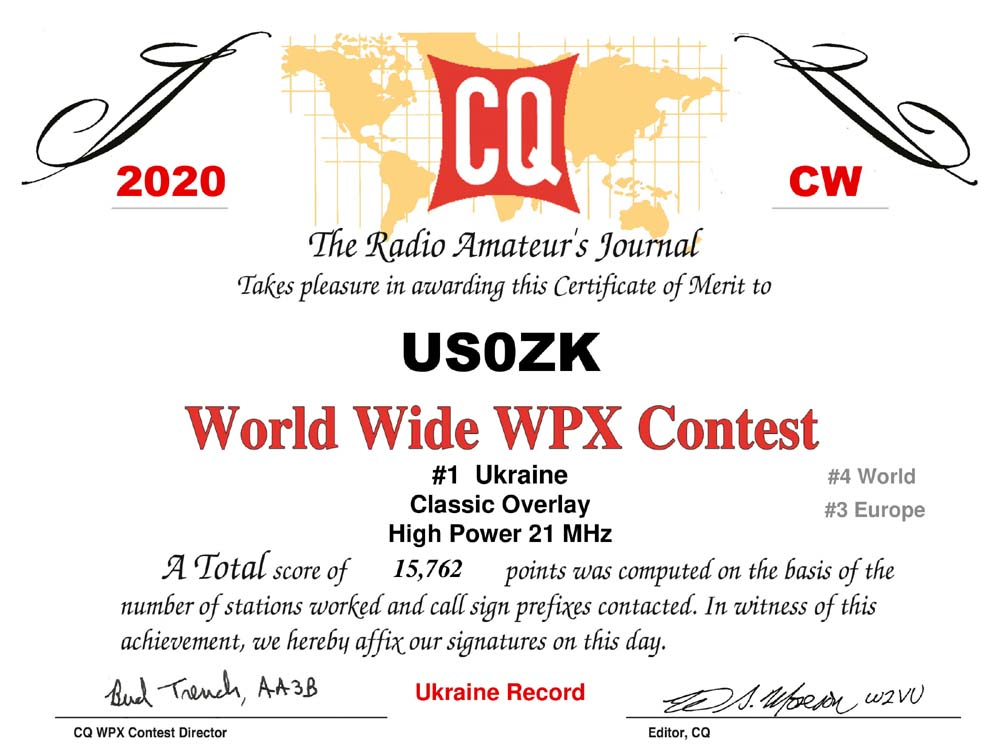 US0ZK_CQWPX_2020_CW_certificate